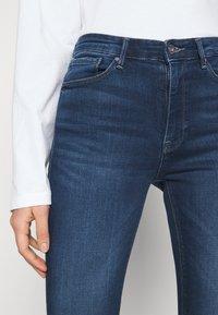 ONLY - ONLPAOLA LIFE - Jeans Skinny - dark blue denim - 4