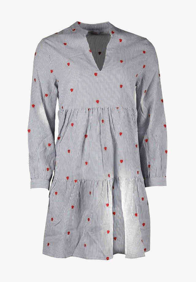 Day dress - grau/weiß