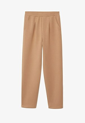 PAPIER - Trousers - marrone medio