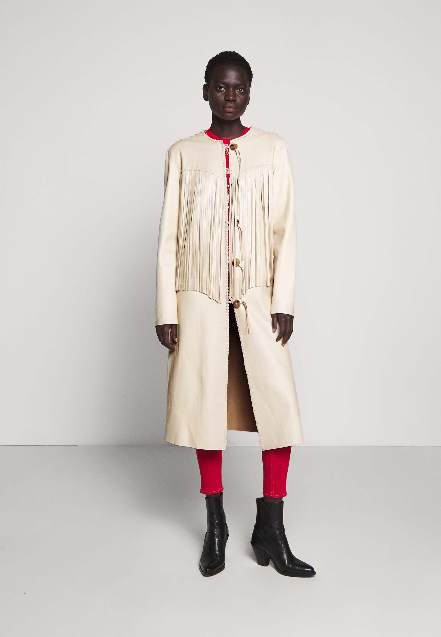 Polo Ralph Lauren CARSON COAT - Veste en cuir - winter cream - Vestes Femme AwtLI