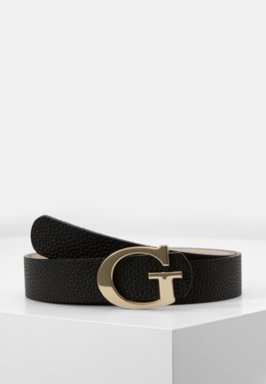 PANT BELT - Riem - black/stone