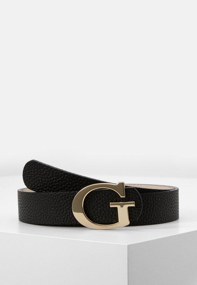 PANT BELT - Belt - black/stone