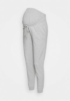 SLIM FIT JOGGERS - OVERBUMP - Træningsbukser - light grey