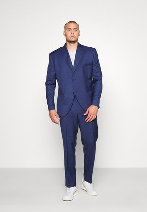 TEXTURE SUIT PLUS - Costume - blue
