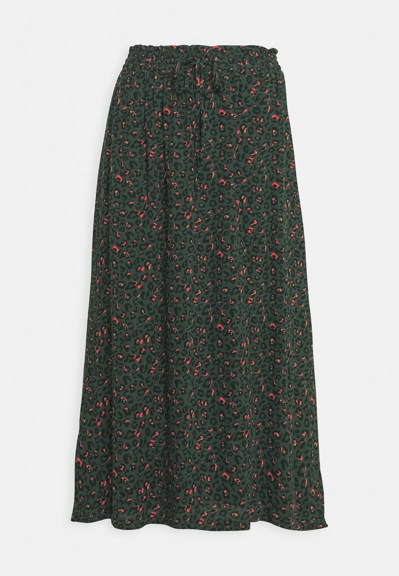Another-Label - KNAPP SKIRT - A-line skirt - sycamore animal
