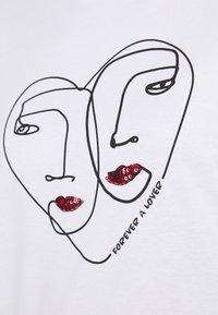 ONLY - ONLKITA LIFE  - Print T-shirt - bright white - 5