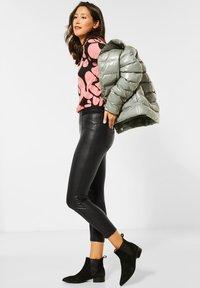 Street One - Leather trousers - schwarz - 1