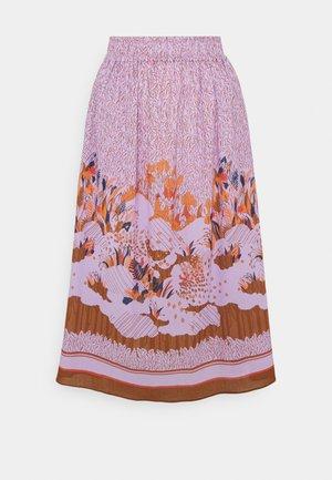 CREPE - Maxi skirt - lavender