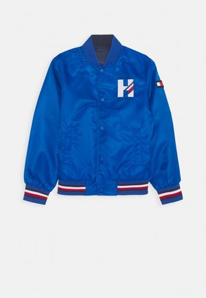 REVERSIBLE LOGO - Light jacket - blue