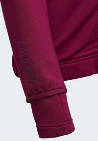 adidas Performance - Zip-up hoodie - powber/msilve - 2