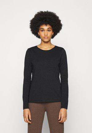 PCRIA NEW TEE - Maglietta a manica lunga - black