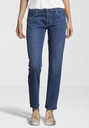 Straight leg jeans - mid blue