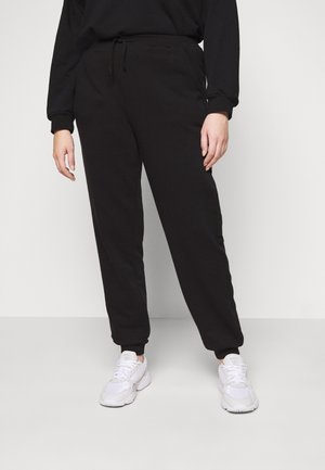 PCROKKA PANTS LOUNGE - Joggebukse - black