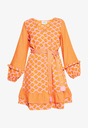 LIV - Day dress - tangerine