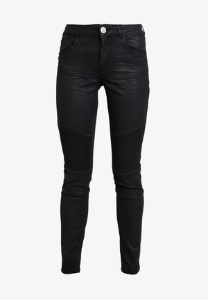 OZZY COATED PANT - Trousers - dark grey