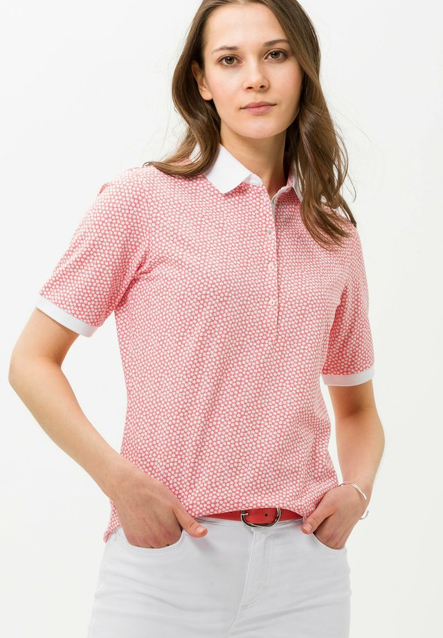 STYLE CLEO - Poloshirt - coral