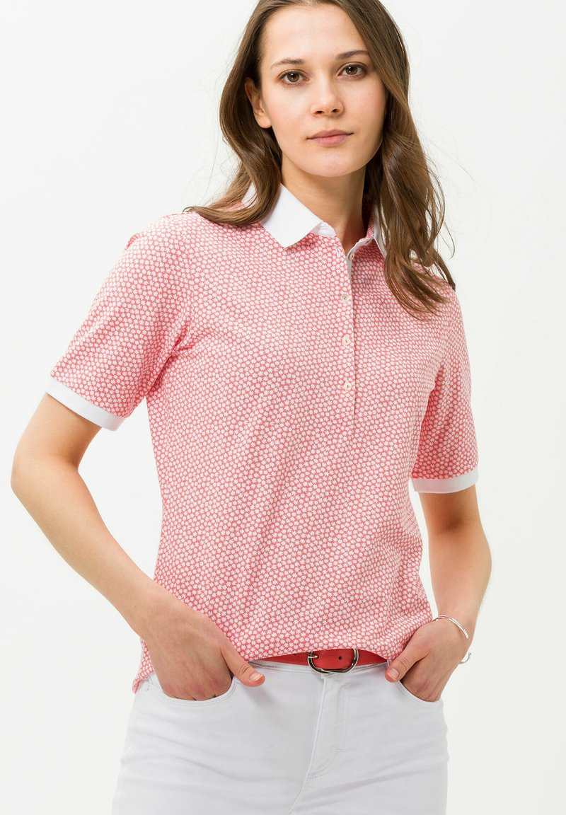 BRAX - STYLE CLEO - Polo - coral