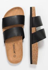 Monki - LIZA - Slippers - black - 3