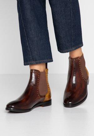 DAISY  - Kotníkové boty - mid brown/sun/rich tan/brown