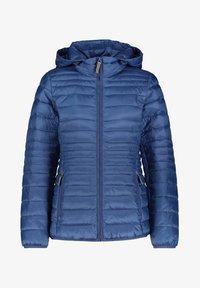Esprit - DAMEN MIT KAPUZE - Winter jacket - blau (51) - 0