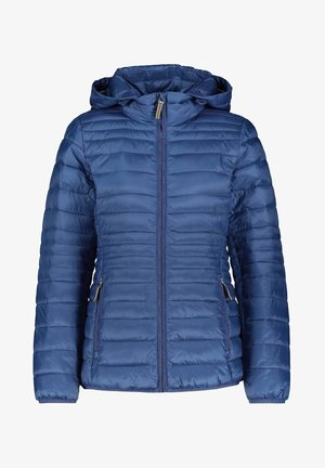 DAMEN MIT KAPUZE - Winter jacket - blau (51)