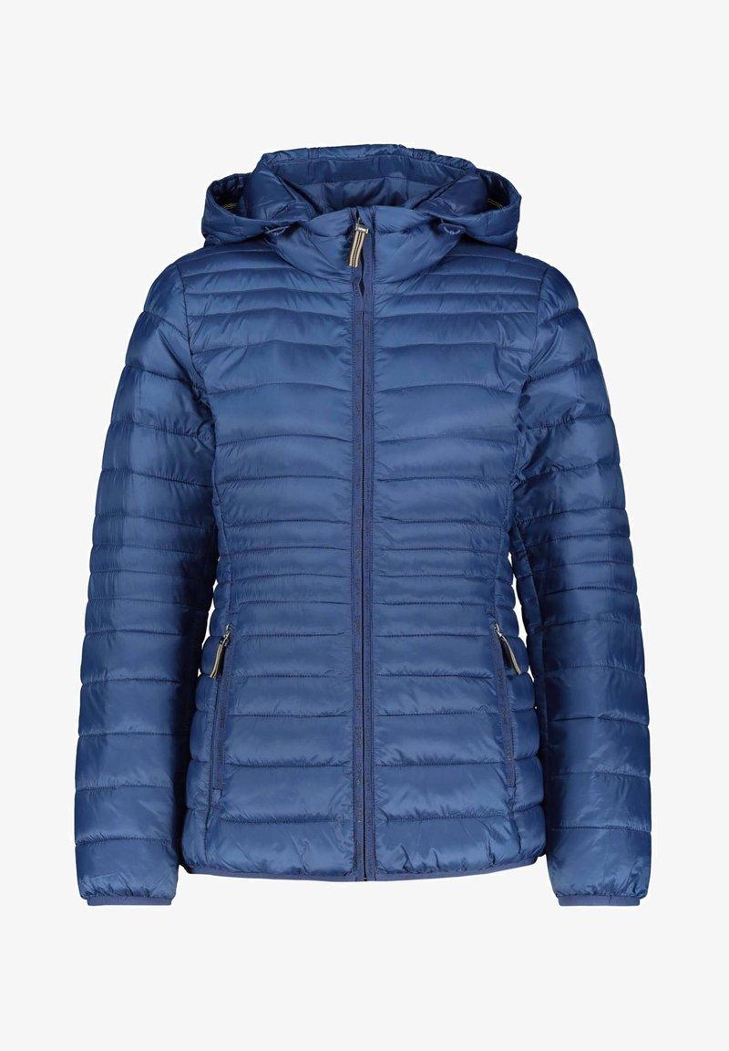 Esprit - DAMEN MIT KAPUZE - Winter jacket - blau (51)
