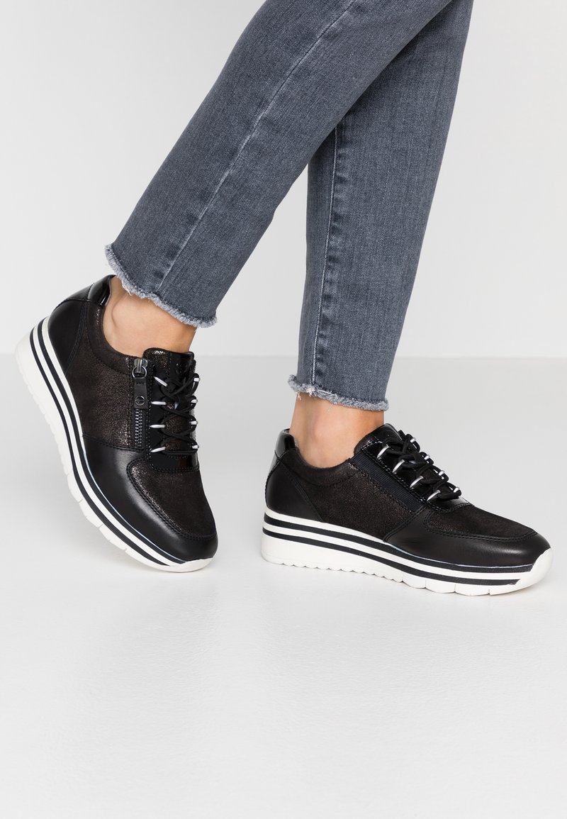 Tamaris Pure Relax - Trainers - black