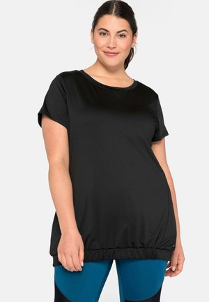 Camiseta básica - schwarz