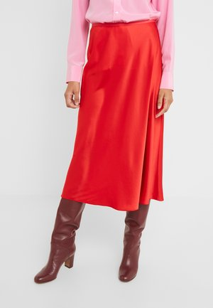EXCLUSIVE MAE SKIRT - A-line skirt - red