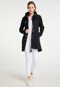 DreiMaster - Zip-up sweatshirt - schwarz - 1