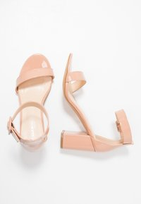 Glamorous Wide Fit - High heeled sandals - nude - 3
