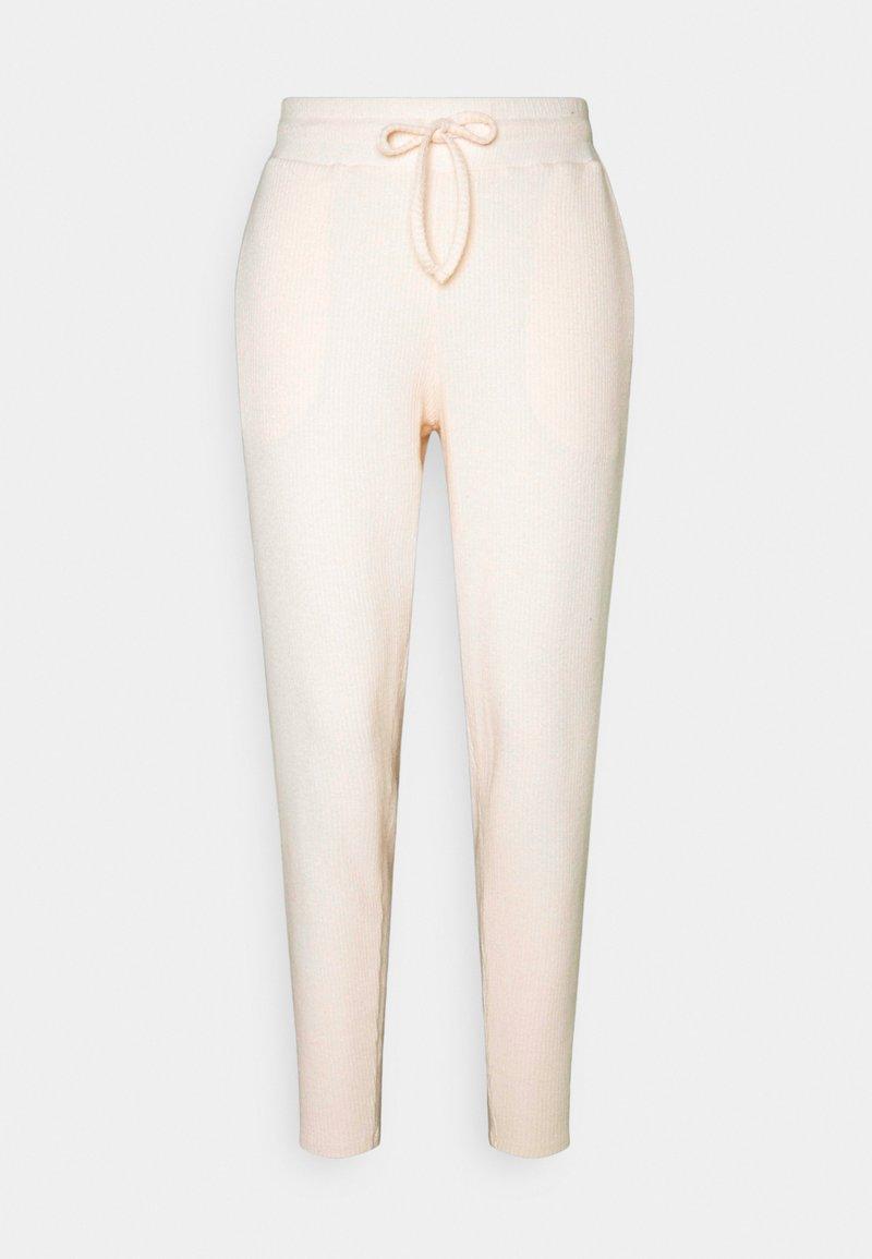 Chelsea Peers - Tracksuit bottoms - beige