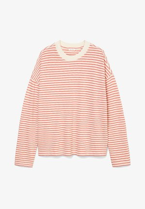Long sleeved top - multi/hazy peach