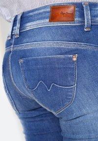 Pepe Jeans - NEW BROOKE - Džíny Slim Fit - d45 - 4