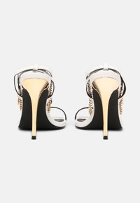 Even&Odd - LEATHER - High heeled sandals - white - 3