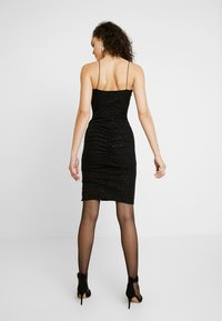 Nly by Nelly - BOMBSHELL SPARKLE DRESS - Cocktail dress / Party dress - black - 3