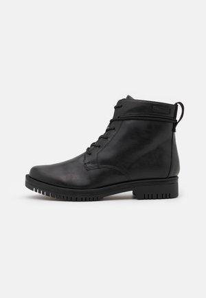 BOOTS  - Lace-up ankle boots - black matt