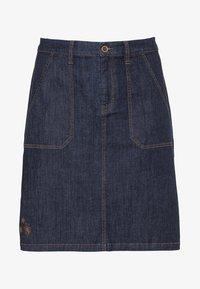 Sheego - Denim skirt - dark blue denim - 5