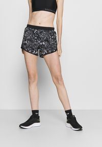 Under Armour - FLY PRINTED SHORT - Sports shorts - black - 0
