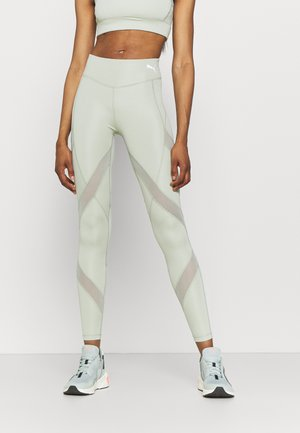 PAMELA REIF X PUMA MID WAIST LEGGINGS - Collants - desert sage