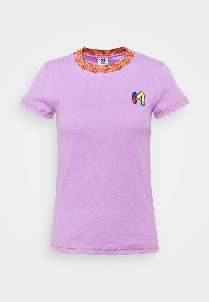 M Missoni - Print T-shirt - purple