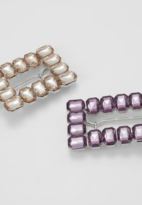 LIARS & LOVERS - RECTANGLE 2 PACK - Haaraccessoire - lilac - 4