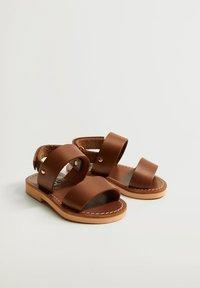 Mango - Sandals - mittelbraun - 1