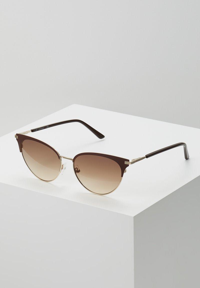 Calvin Klein - Sluneční brýle - brown
