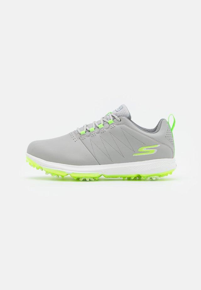 GO GOLF PRO 4 - Golfschoenen - gray/lime