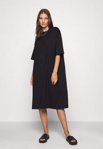 ELOISE DRESS - Jersey dress - black