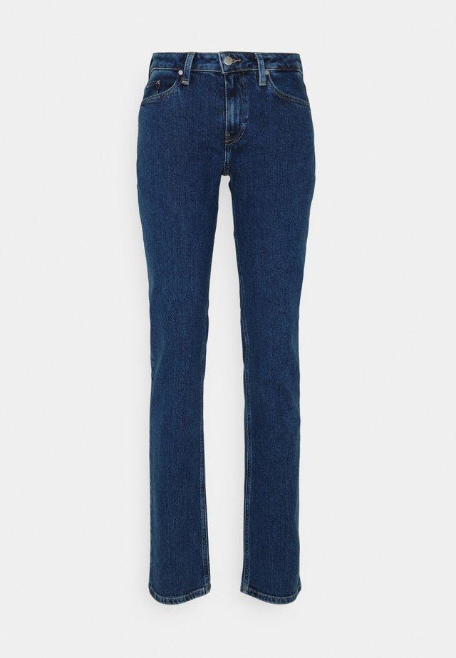 SOFT ROME STRAIGHT - Jeans a sigaretta - blue denim
