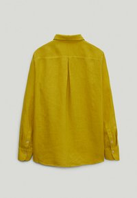 Massimo Dutti - Button-down blouse - yellow - 1