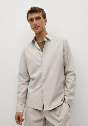 REGULAR FIT - Shirt - hellgrau/pastellgrau