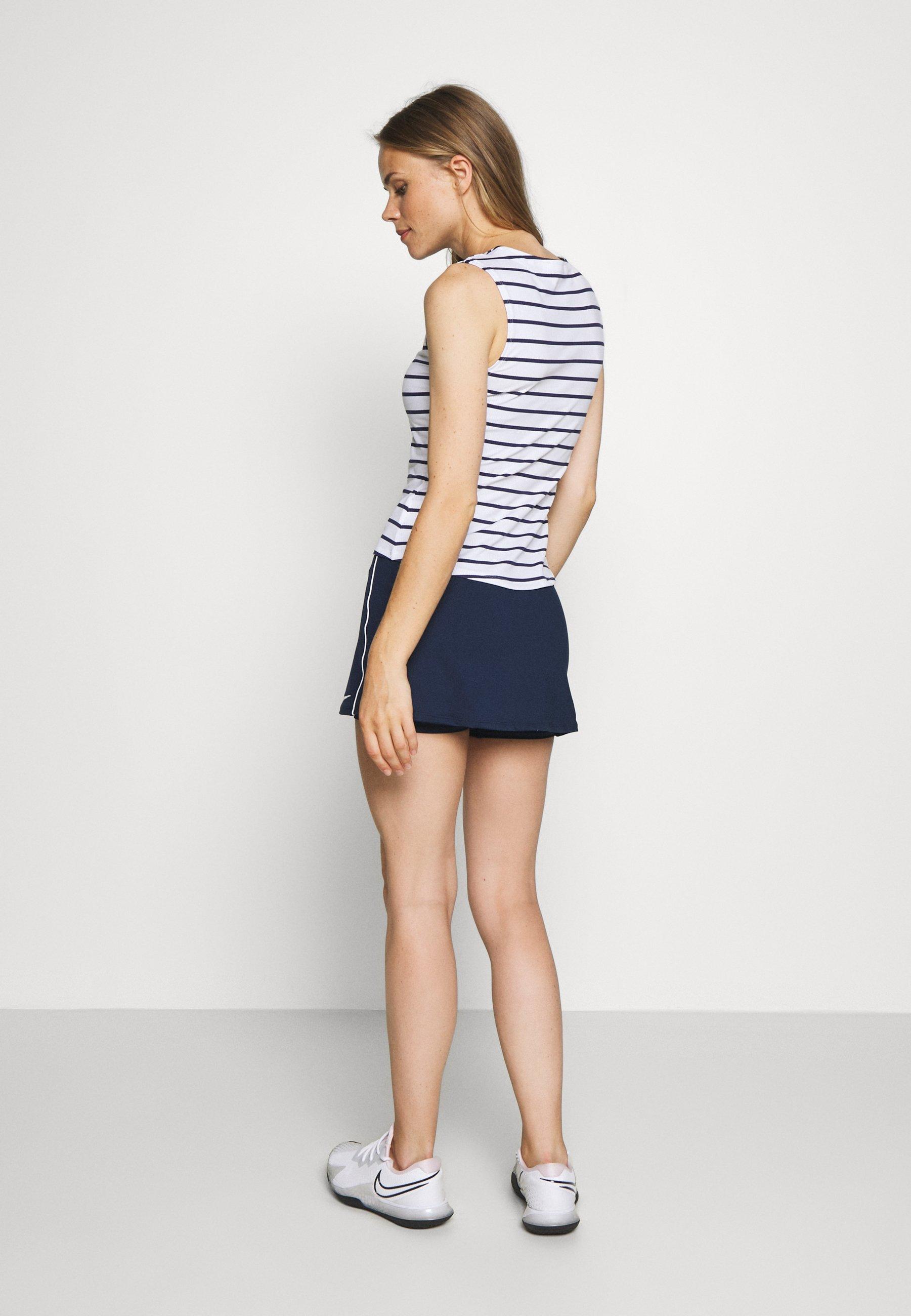Nike Performance DRY SKIRT - Sports skirt - college navy/white 9fPjw